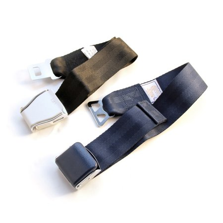 Airplane Seat Belt Extender Combo Pack   Fits All Airlines  Type A Universal   Type B Southwest Airlines