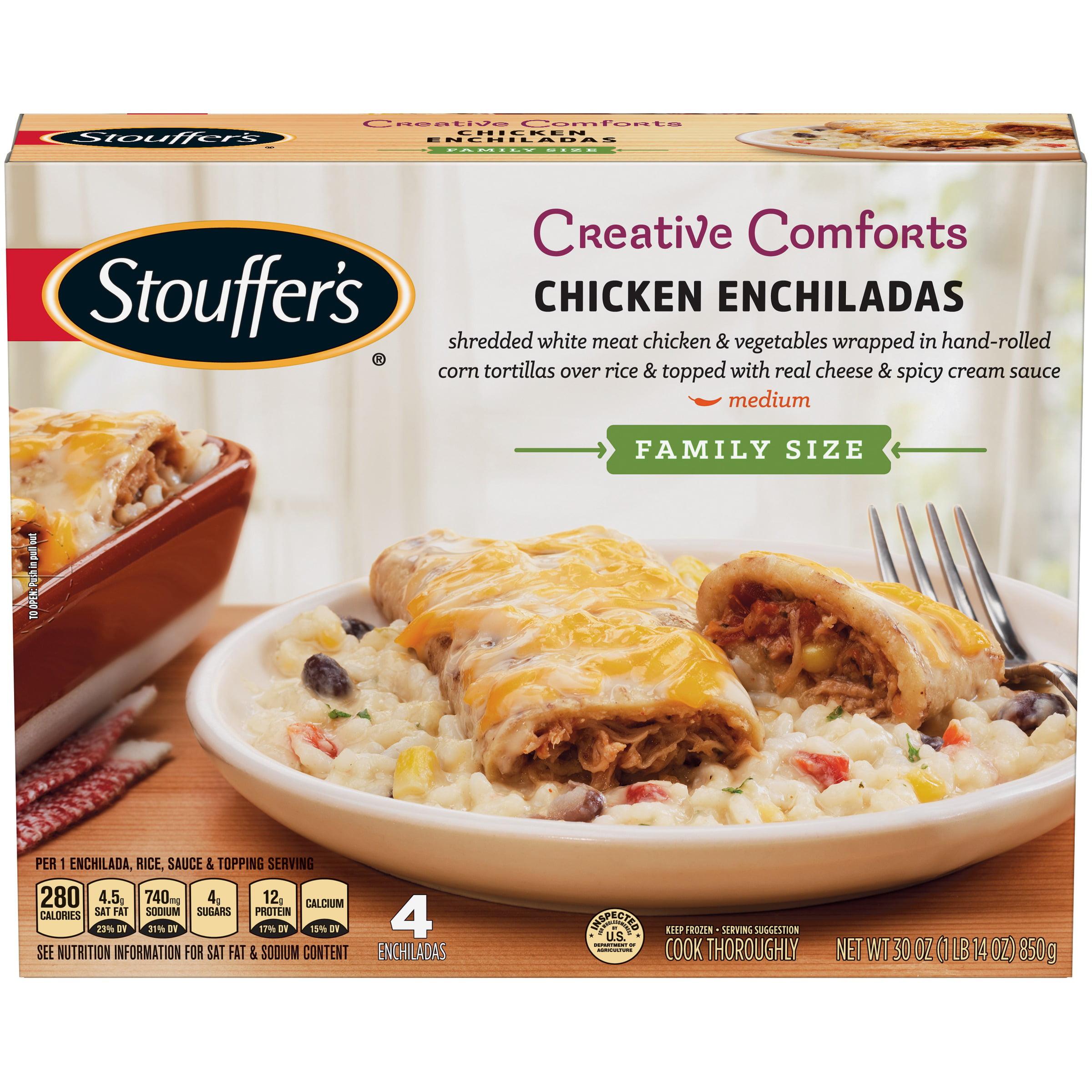 STOUFFER'S CLASSICS Family Size Chicken Enchiladas 30 oz. Box