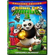 Kung Fu Panda 3, DVD, (With Instawatch) by