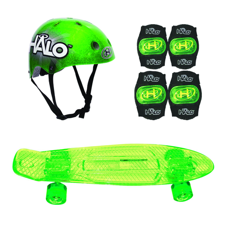 HALO Rise Above Skateboard Combo Set - Green