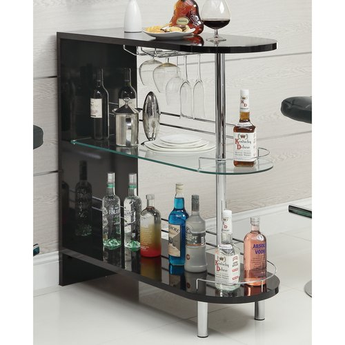 Coaster Modern Bar Unit, Multiple Finishes