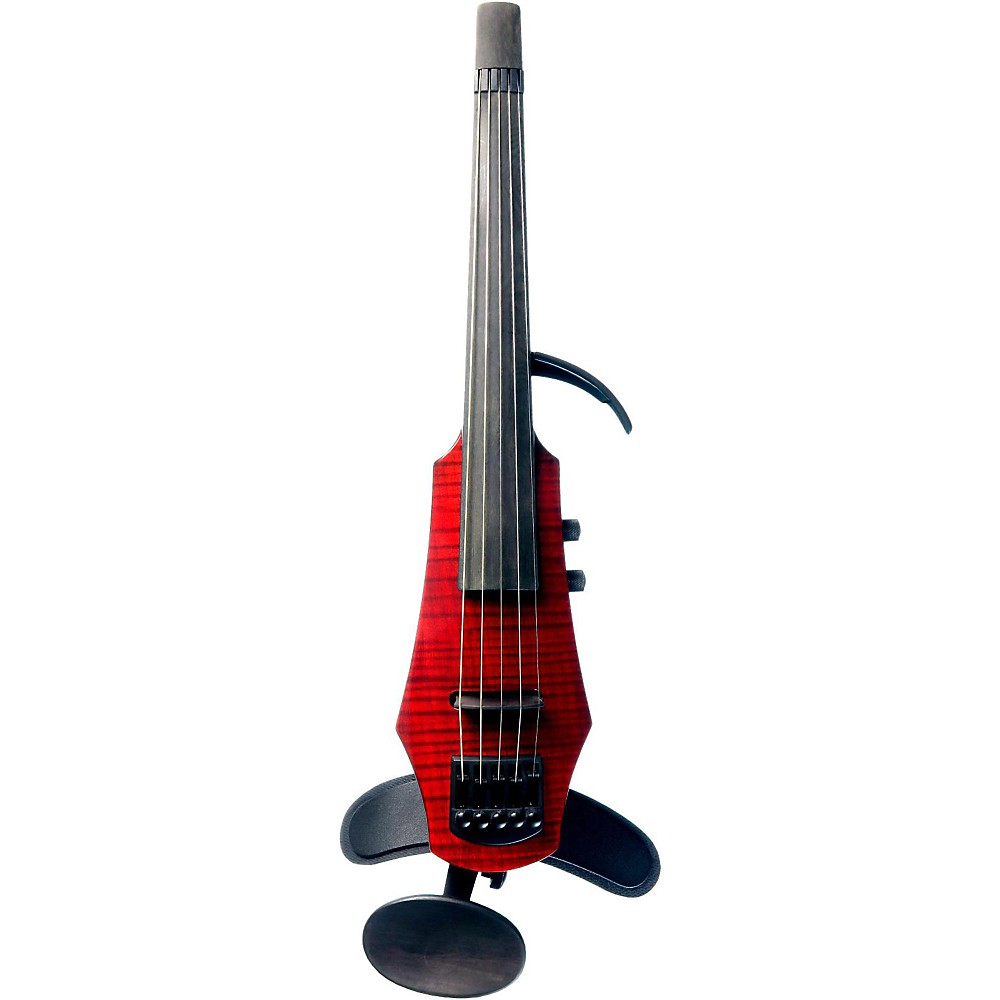 NS Design WAV 5 5-String Electric Violin Transparent Red by NS Design