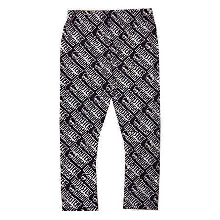 Black and White Monster High Creeperific Leggings Child Halloween Costume, One Size, (Halloween Leggings)