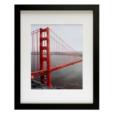 Black Ivory Art (Golden State Art Picture Frame Black with Ivory Mat - 11W x 14H in.)
