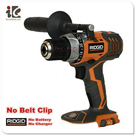 Ridgid Fuego R86008 18V Lithium Ion 1650 RPM Cordless Compact 2 Speed Drill / Driver with LED Grip Light and Keyless Chuck (Battery Not Included, Power Tool