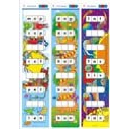 Didax Educational Resources CVC Word Ladder Activity Card Set