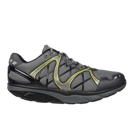 d788ffca1030 MBT - MBT Shoes Men s Simba 6 Athletic Shoe  10 Medium (D) Grey Yellow Lace  - Walmart.com