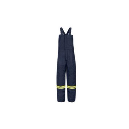 Bulwark Deluxe Insulated Bib Overall with Reflective Trim - EXCEL FR® ComforTouch - Long Sizes