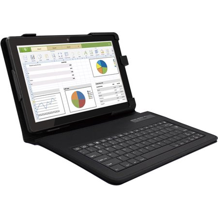 Refurbished RCA RCT6103W46KB 16GB 10 Inch Tablet with Bluetooth Keyboard (Rca Tablets With Bluetooth)