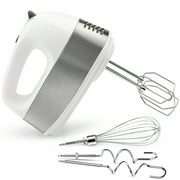 Keenstone Electric Hand Mixer for kitchen, Egg Beaters and Whisk with Dough Hook, Handheld Mixer Baking Beaters with Turbo Boost & Eject Button