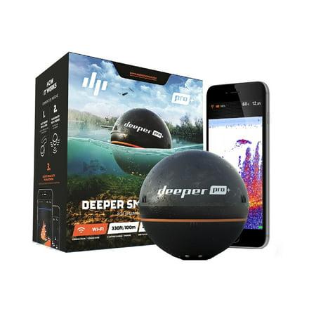 - Deeper Smart Sonar PRO+ Fishfinder