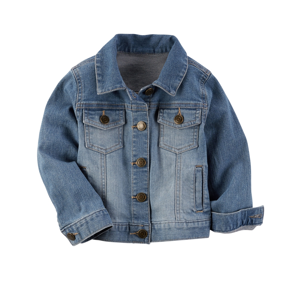 carters toddler clothing outfit girls child denim jacket