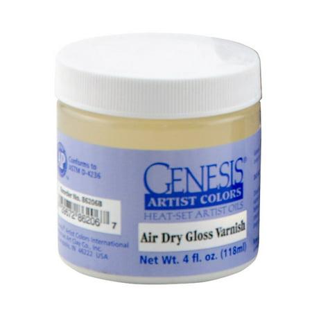 Genesis Artist Oil Color Heat-Set Permanent Varnish 4 oz Jar