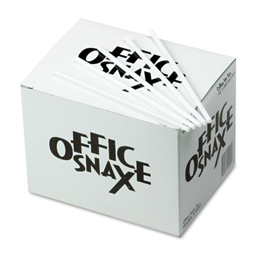 Office Snax Plastic Stir Stick, 1000/Box