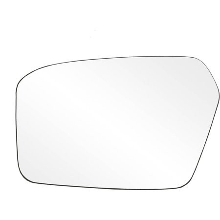 13 Fusion - 88207 - Fit System Driver Side Non-heated Mirror Glass w/ backing plate, Ford Fusion, Mercury Milan 06-10, 4 13/ 16