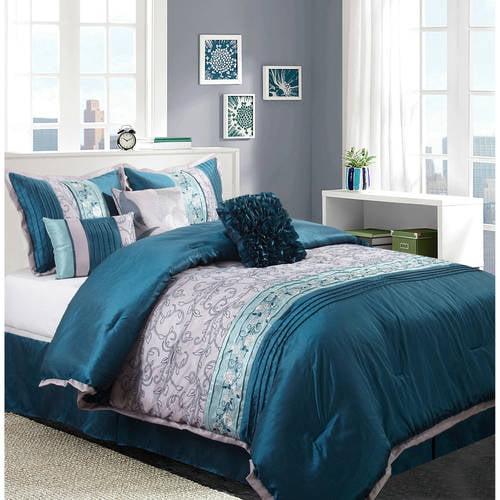 Nanshing America, Inc Juliana 7 Piece Comforter Set