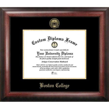 Boston College Diploma Frame (Boston College Gold Embossed Diploma Frame )