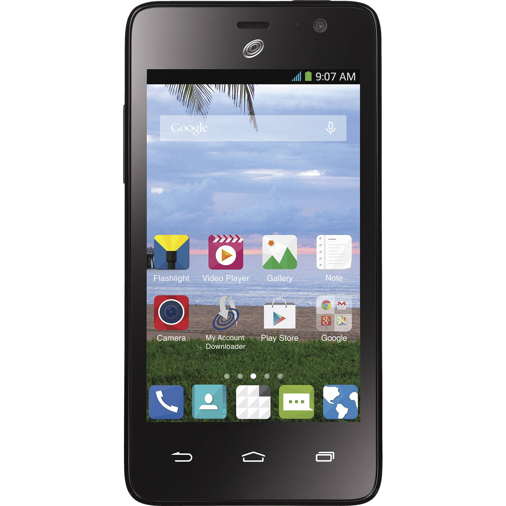 Refurbished Straight Talk ZTE Zephyr Android Prepaid Smartphone with Bonus $45/30-Day Plan