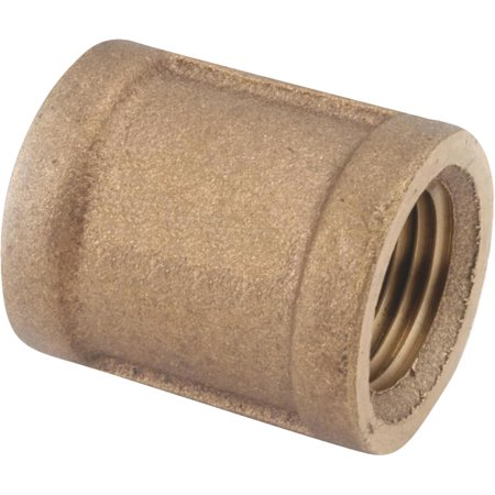 Threaded Red Brass Coupling