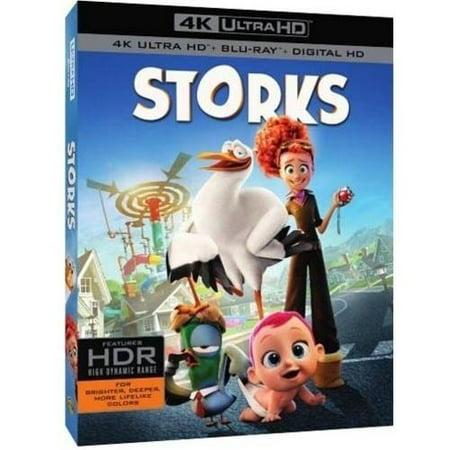 Storks  4K Ultra Hd   Blu Ray   Digital Hd   Widescreen
