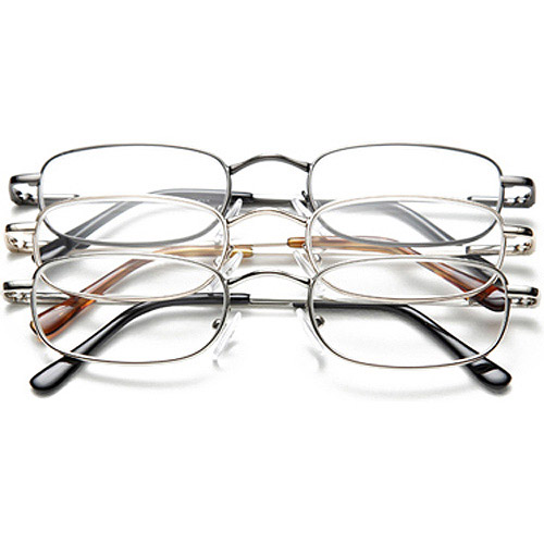 Optx 20/20 Unisex Reading Glasses, +2.50