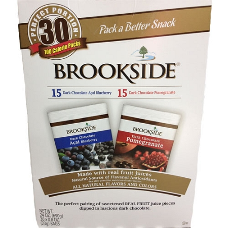 Brookside Superfruit Variety Pack: 30 count