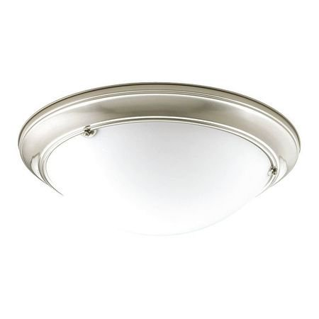 """Eclipse Collection Three-Light 19-3/8"""" Close-to-Ceiling"""