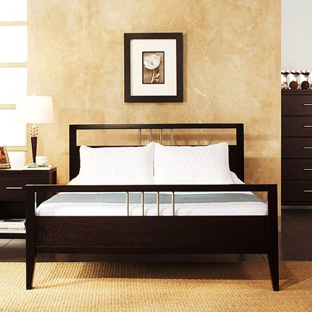 Nevis Queen Size Platform Bed Espresso