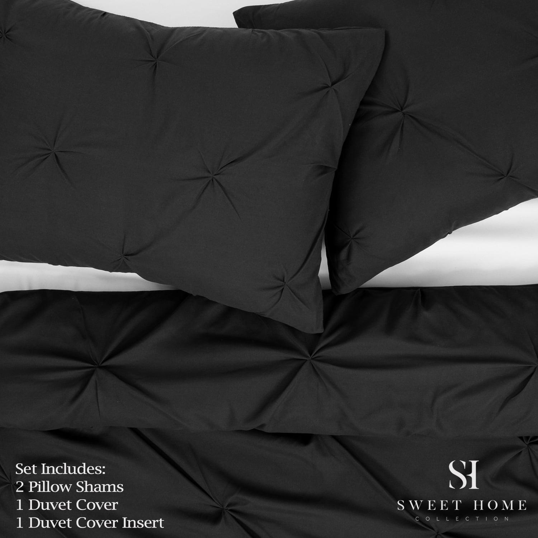 Comfort All Season Light Weight Down Alternative Reversible 3 pc Burg//Black Twin
