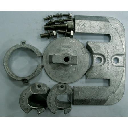 Aluminum Anode (Martyr Anode Aluminum Merc Kit Bravo 1 CMBRAVO1KITA )