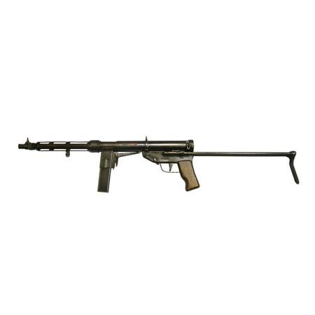 Top Gun Canvas (Italian TZ-45 9mm submachine gun Canvas Art - Andrew ChittockStocktrek Images (35 x 23) )