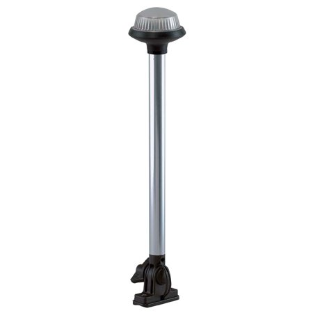 Perko 1636DP0CHR Stealth Series LED Fold Down All-Around Light - 14-1/4