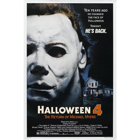 Halloween Return Of Michael Myers Full Movie (Halloween 4: The Return of Michael Myers (1978) Movie Poster 24x36..., By The Gore Store Ship from)