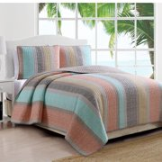 American Home Fashion Estate Reversible Quilt Set