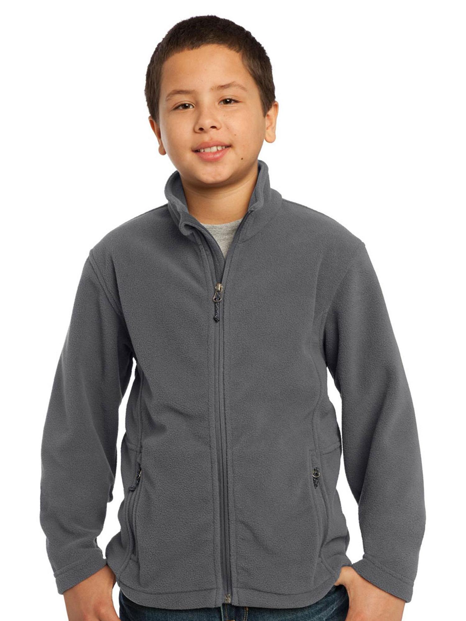 Port Authority Youth Pocket Zipper Soft Fleece Jacket