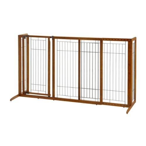 Richell Deluxe Freestanding Pet Gate Medium