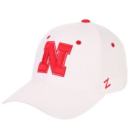 Zephyr Nebraska Cornhuskers Fitted Hat - Nebraska Cornhuskers Official NCAA DH Size 7 5/8 Fitted Hat Cap by Zephyr 063040