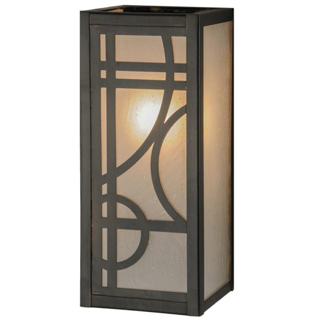 Meyda Tiffany 144403 5 in. Revival Deco Wall Sconce, T.B.D.