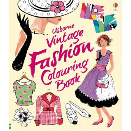 Vintage Fashion Colouring Book](Kids Fashion Magazines)