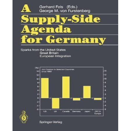 A Supply-side Agenda for Germany: Sparks from the United States, Great Britain, European Integration