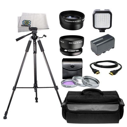 Professional Accessory Package for Sony HVR-HD1000U, HXR-...