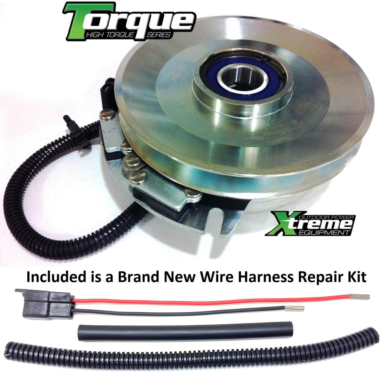 "HI-TORQUE w// Harness Repair Kit 1/"" I.D. 1-653048 PTO Clutch For Toro Z147"