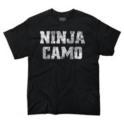 Ninja Camo Funny Picture Shirt Gift Novelty Humorous Attitude T-Shirt Tee by Brisco Brands