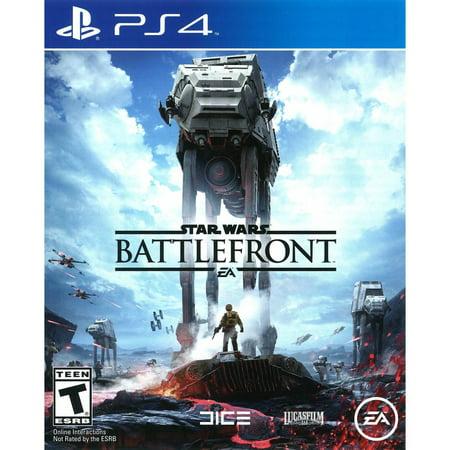 Star Wars Battlefront  Electronic Arts  Playstation 4  014633368680