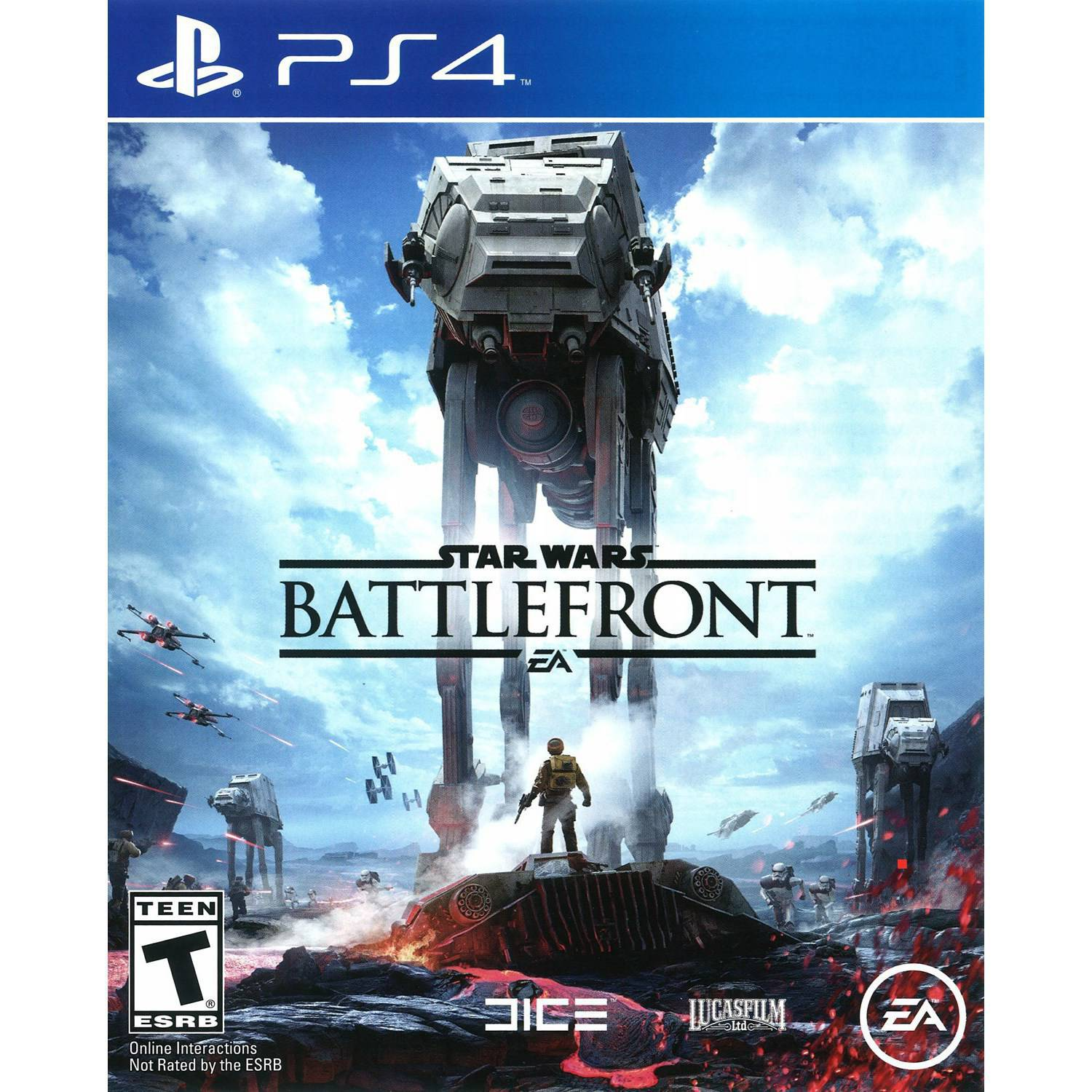 Star Wars Battlefront, Electronic Arts, PlayStation 4, 014633368680