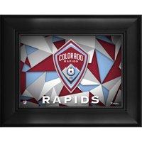 "Colorado Rapids Framed 5"" x 7"" Team Logo Collage"