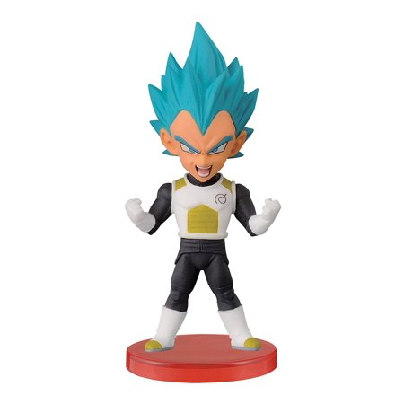 Dragon Ball Z 2.8-Inch Super Saiyan God Super Saiyan Vegeta World Collectable Figure, Z Warriors, Dragon Ball Z 2.8-inch figure of Super Saiyan.., By