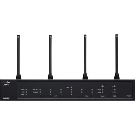 Cisco RV340W Dual WAN Gigabit Wireless AC VPN Router ()