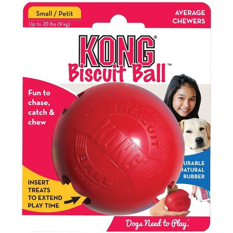 KONG Biscuit Ball, S