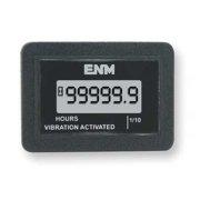 Enm T54D1 LCD Hour Meter, Flush Rectangular